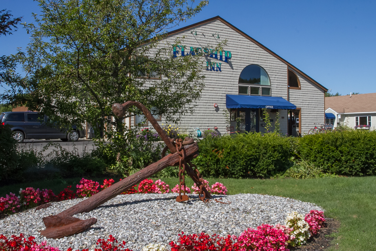 Flagship Inn and Suites - the best place to stay for lighthouses Boothbay Harbor Maine