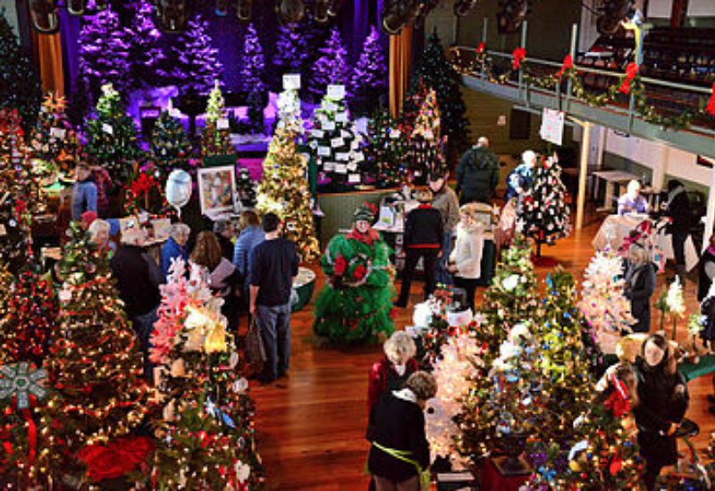 Festival of Trees in Boothbay Harbor Maine