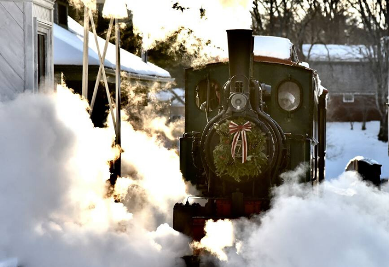 North Pole Express at Boothbay Railway Village