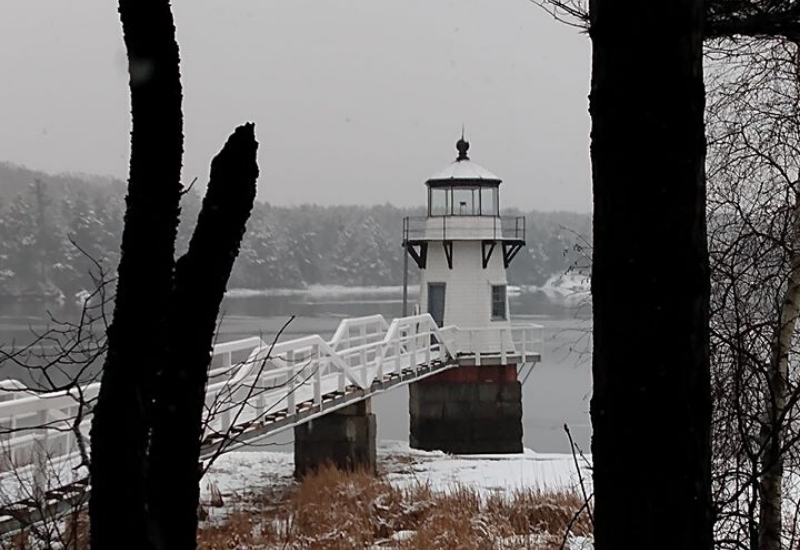 Doubling Point Light one of the Best Lighthouses Boothbay Harbor Maine