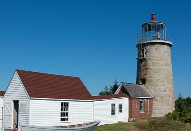 Monhegan Lighthouse one of the Best Lighthouses Boothbay Harbor Maine