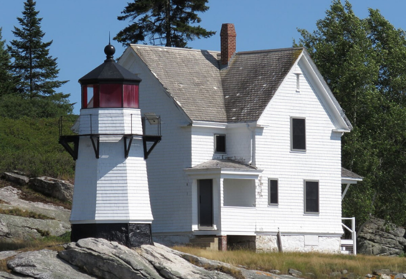 Perkins Island Lighthouse one of the Best Lighthouses Boothbay Harbor Maine