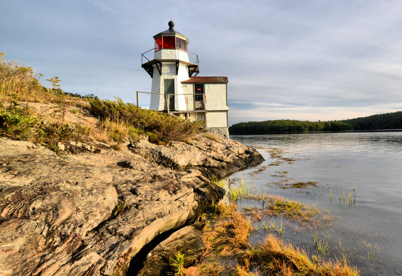 Squirrel Point Light one of the Best Lighthouses Boothbay Harbor Maine