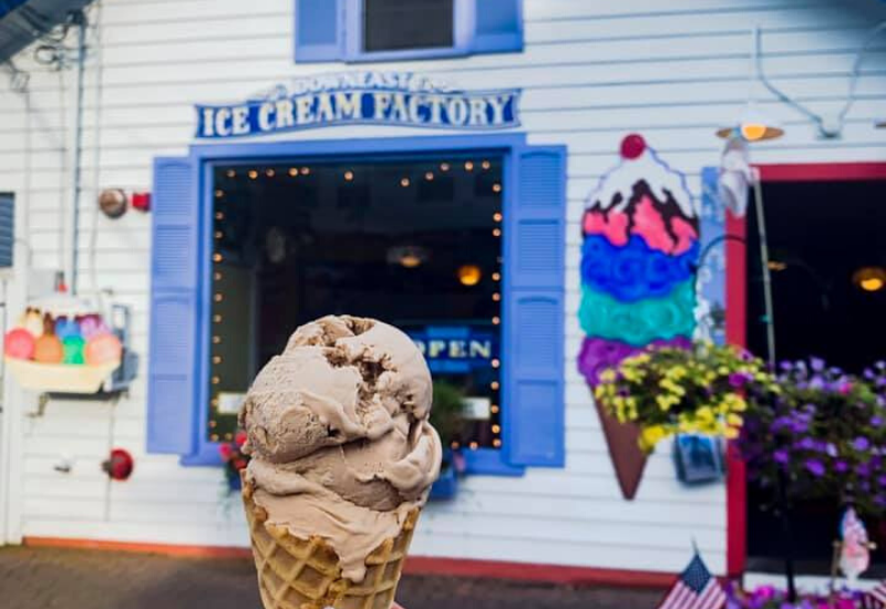best ice cream boothbay harbor maine